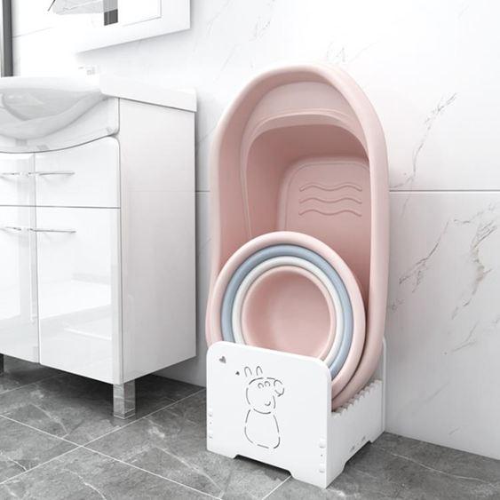 浴室置物架 衛生間置物架衛生間臉盆架洗手間洗漱臺廁所收納架子落地家用 0