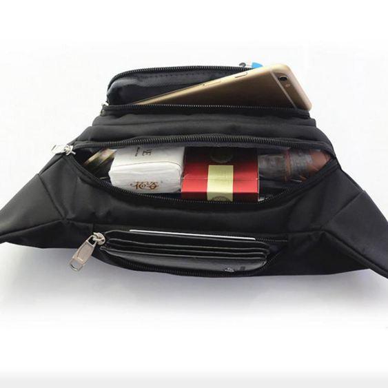 腰包 男女多功能大容量防潑水收銀生意包耐磨戶外運動手機錢包錢包 3
