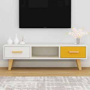 電視櫃 北歐電視櫃簡約現代客廳臥室小戶型電視櫃組合家具簡易電視機櫃【快速出貨】 0