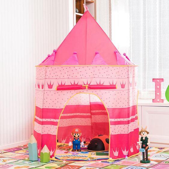 兒童帳篷 游戲屋室內家用兒童寶寶蒙古包城堡玩具屋男孩女孩公主房 1