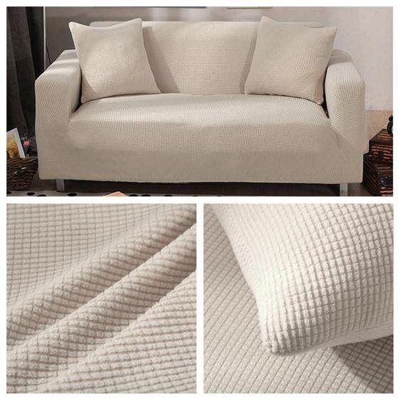 彈力加厚萬能沙發套全包布套沙發罩全蓋翻新布藝北歐簡約純色 【快速出貨】 3