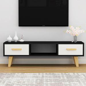 電視櫃 北歐電視櫃簡約現代客廳臥室小戶型電視櫃組合家具簡易電視機櫃【快速出貨】 1