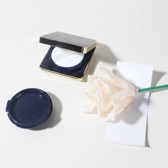 diy氣墊盒自制氣墊空盒輕薄四方形磁扣手工CC霜BB霜粉底液分裝盒配替換【快速出貨】 2