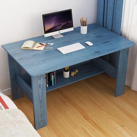電腦桌 電腦桌電腦臺式桌 家用簡易辦公桌簡約小桌子臥室寫字桌學生書桌【快速出貨】 1