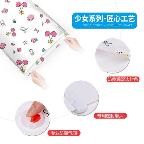 抽氣抽真空壓縮袋棉被裝被子衣服收納袋衣物大號整理打包袋【快速出貨】 3