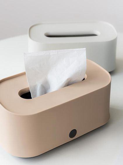 紙巾盒 北歐ins客廳茶幾抽紙盒簡約家用餐廳創意可愛飯店餐巾紙盒 2