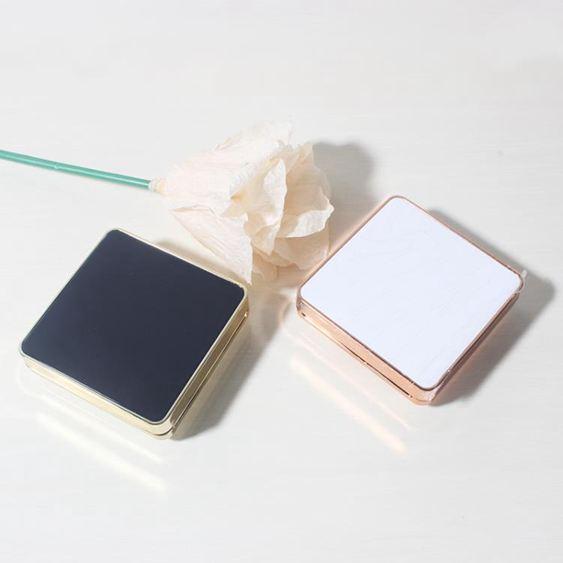 diy氣墊盒自制氣墊空盒輕薄四方形磁扣手工CC霜BB霜粉底液分裝盒配替換【快速出貨】 0