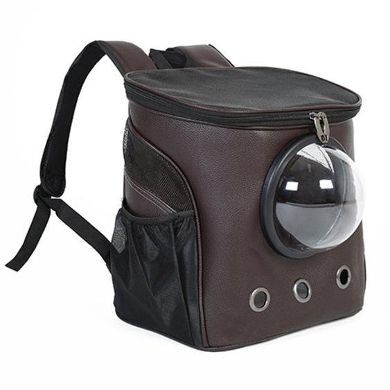 寵物外出包 貓包外出便攜雙肩太空貓咪艙狗狗攜帶書包寵物書包出行箱大號背包 0