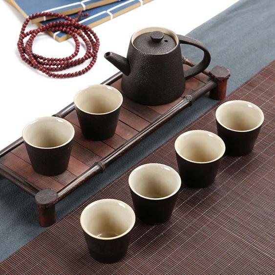 茶具 陶瓷茶具套裝功夫茶具整套茶具冰裂茶杯茶壺茶道茶盤泡茶套裝家用 0
