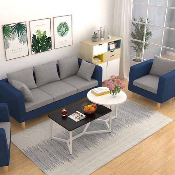 北歐茶幾創意迷你簡約現代小戶型矮桌子簡易客廳邊幾仿實木茶桌臺【快速出貨】 2