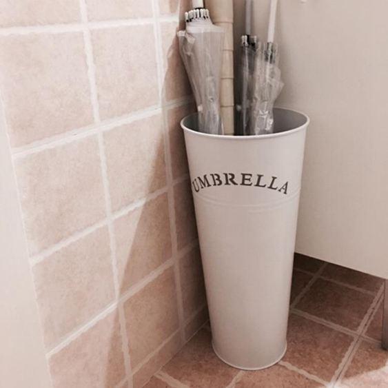 傘架 雨傘桶家用 歐式現代時尚簡約家居鐵藝辦公雨傘架 創意雨傘收納桶 0