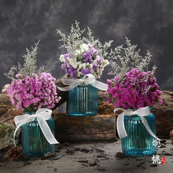 滿天星干花風干花束真花裝飾家居擺設永生花小清新插花搭配花【快速出貨】 1