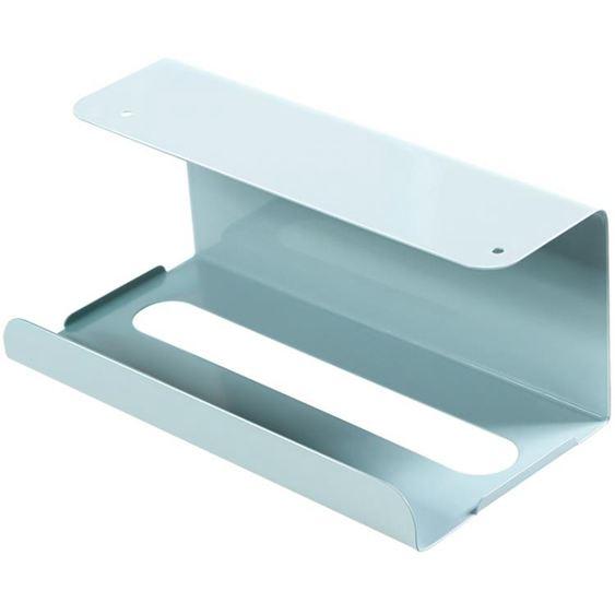 紙巾盒 廚房紙巾架免打孔鐵藝用紙架家用餐巾紙 1