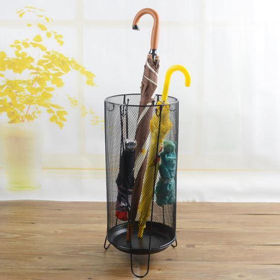 傘架 家用雨傘架創意雨具酒店大堂歐式落地雨傘收納架店面辦公雨傘桶 0