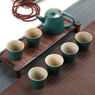 茶具 陶瓷茶具套裝功夫茶具整套茶具冰裂茶杯茶壺茶道茶盤泡茶套裝家用 1