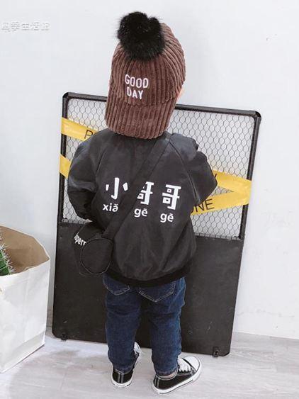 寶寶冬裝男童棉襖外套加絨加厚3歲兒童開衫上衣兩面穿潮【快速出貨】 2