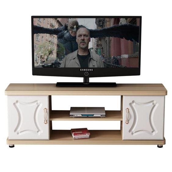 電視櫃 歐式電視櫃茶幾組合臥室輕奢小戶型簡易迷你現代簡約客廳電視機櫃【快速出貨】 3