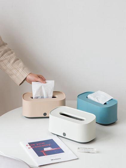 紙巾盒 北歐ins客廳茶幾抽紙盒簡約家用餐廳創意可愛飯店餐巾紙盒 3