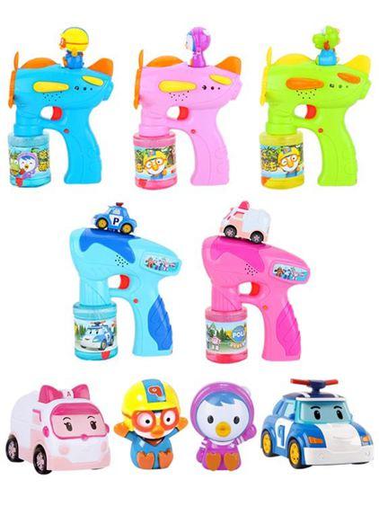 泡泡機 兒童全自動泡泡水補充液不漏水電動吹泡泡槍玩具 2