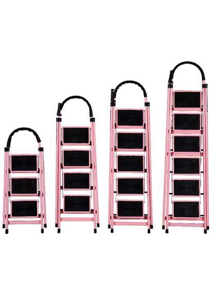 梯子 家用折疊室內人字多功能梯四步梯五步梯加厚鋼管伸縮踏板爬梯【快速出貨】 3