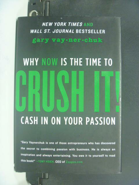 ~書寶 書T6/原文書_HHF~Crush It_Vaynerchuk Gary