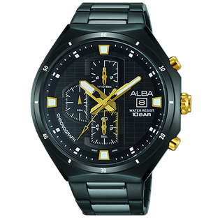 ALBAVD57-X087SD(AM3403X1)聖誕節限定款計時腕錶45.7mm