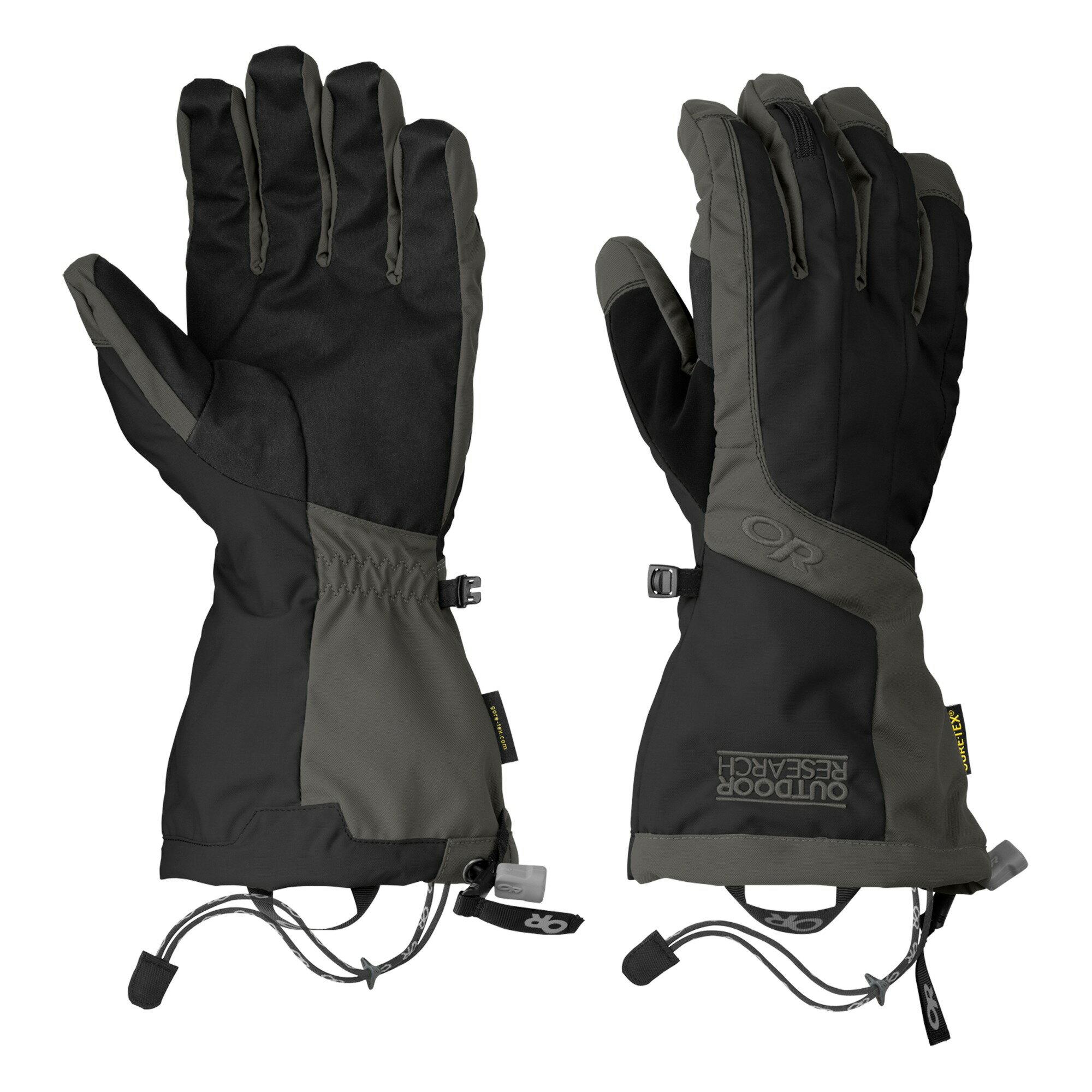 Outdoor Research 男GORE-TEX防水可拆卸保暖手套 [-17/-7℃] ARETE 243358/271615