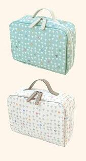日本Hoppetta蘑菇款寶寶用品外出袋嬰兒用品收納袋可放濕紙巾除臭設計外出收納包