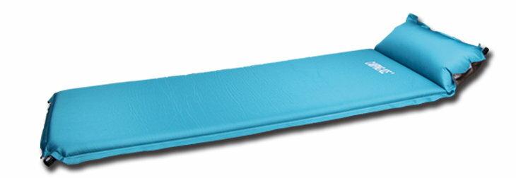 【速捷戶外】野樂 ARC-224H 加厚自動充氣睡墊(6.5CM) (附枕頭、收納袋、壓縮織帶) 可拼接/止滑/耐磨/側邊魔鬼氈