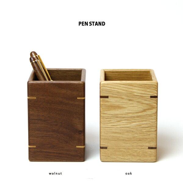 【MUKU工房】北海道旭川工藝SASAKI工藝無垢筆筒(原木實木)