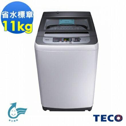 【TECO 東元】11公斤 FUZZY人工智慧定頻單槽洗衣機(W1138FN)