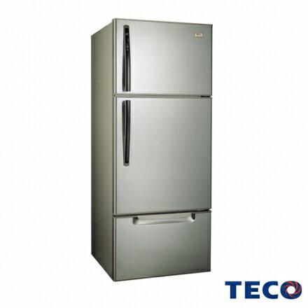 【福利品TECO東元】600公升變頻三門冰箱 古銅鑽(R6061VXH)