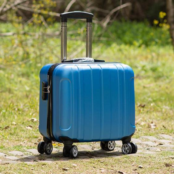 【免運】迷你行李箱14寸拉桿箱女小輕便旅行箱密碼箱小型小號16飛機可攜帶JD 玩趣3C  喜迎新春 全館8.5折起