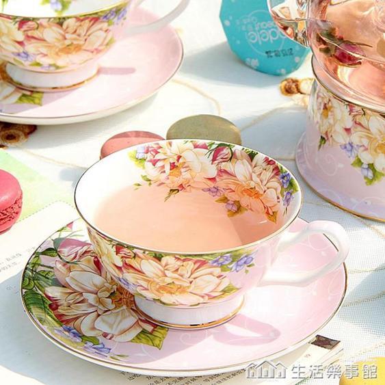 【免運】歐式咖啡杯碟套裝骨瓷小奢華下午茶茶具陶瓷英式花茶杯家用小精致 NMS生活樂事館  喜迎新春 全館8.5折起