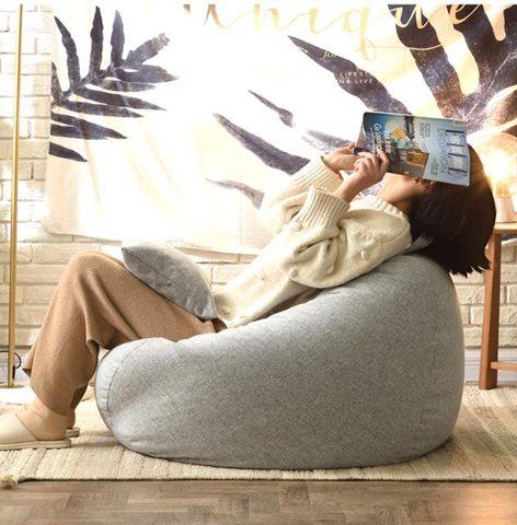 【免運】懶人沙發一棵檸檬豆袋單人臥室客廳陽臺休閒小戶型沙發椅子榻榻米  喜迎新春 全館8.5折起  喜迎新春 全館8.5折起