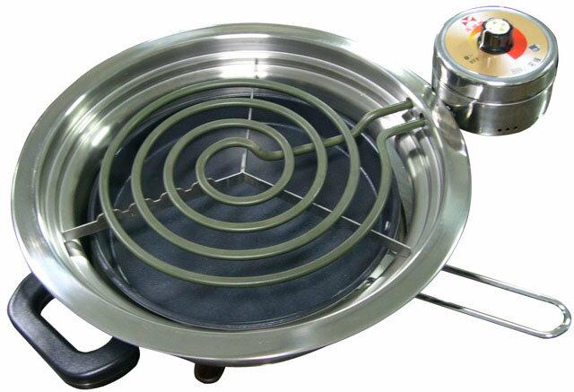 ✈皇宮電器✿ 9017萬國 白鐵電爐 9017 BBQ-L (大) 烤肉、泡茶、火鍋.一機多用~台灣製造~~ - 限時優惠好康折扣