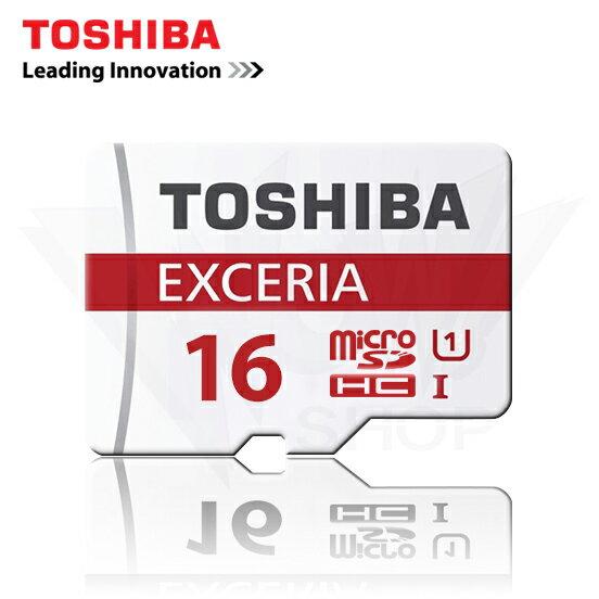 TOSHIBA 東芝 16GB EXCERIA 超高速 micro SD HC 記憶卡 U