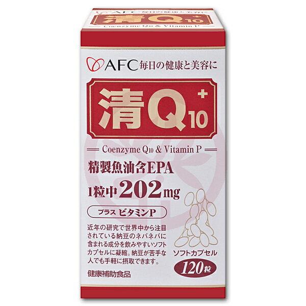 AFC宇勝淺山 菁鑽清Q10膠囊食品(120粒/罐)