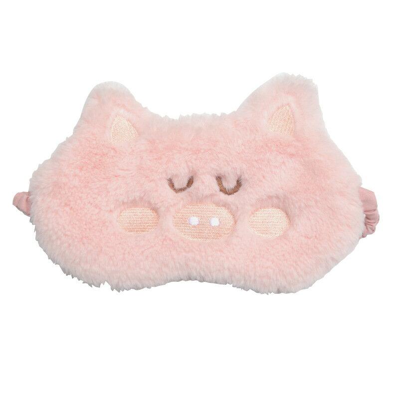 眼罩睡眠女可愛韓版遮光學生睡覺個性冰敷熱敷護眼罩透氣萌