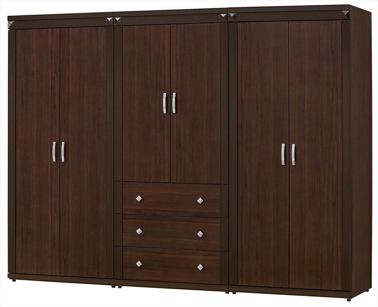【石川家居】CE-152-01 布雷克8尺衣櫥 (不含其他商品) 需搭配車趟