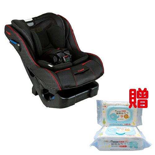 康貝 Combi News Prim Long EG 汽車安全座椅-羅馬黑贈萌寶寶嬰兒柔濕巾1箱★衛立兒生活館★