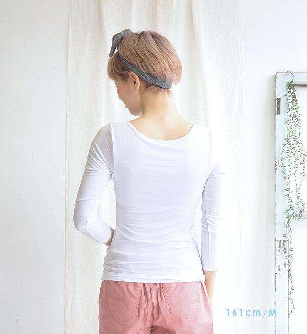 e-zakka Cool Fit!舒適涼感 女士七分袖上衣-日本必買 日本樂天代購 /  件件含運 7