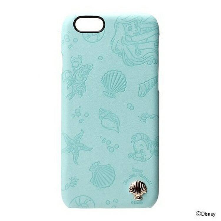 尼德斯Nydus~* 日本迪士尼 手機殼 保護殼 小美人魚 立體貝殼 皮套 4.7吋 iPhone 6/6S