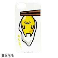 蛋黃哥手機殼及配件推薦到尼德斯Nydus 日本正版 三麗鷗 蛋黃哥 白色 硬殼 手機殼 保護殼 iPhone6 4.7吋 iPhone7就在尼德斯Nydus推薦蛋黃哥手機殼及配件