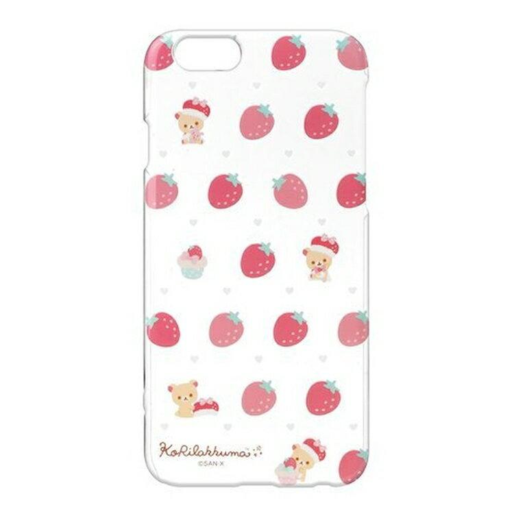 尼德斯Nydus~* 日本 San-X 拉拉熊 懶熊 牛奶妹 小白熊 透明硬殼 4.7吋 手機殼 iPhone 6/6S