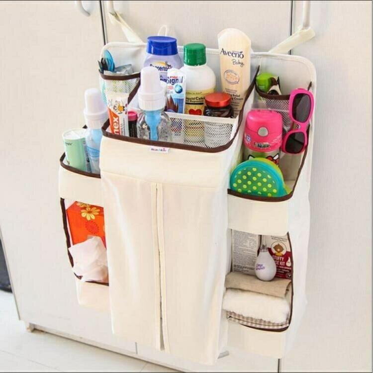床頭掛袋 掛式衣物儲物袋家居大容量懸掛式尿布收納袋
