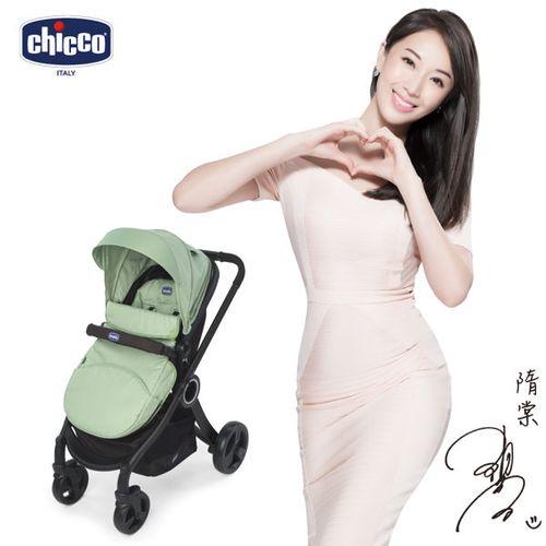 Chicco urban plus個性化雙向手推車-大地綠 贈布套X3(顏色隨機出貨)★衛立兒生活館★ 0