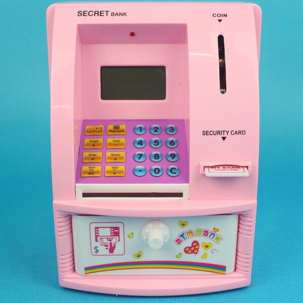 迷你電子存款機 6301 ATM迷你存提款機(附電池)/一個入{促600}貯金箱 CF122626