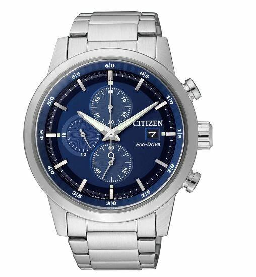 清水鐘錶 Citizen 星辰 Eco-Drive 光動能 急速豪傑時尚優質腕錶 藍面 CA0610-52L 43mm