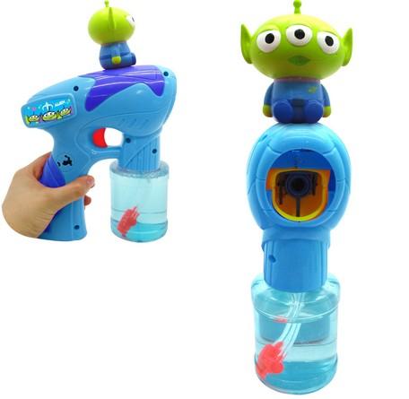 三眼怪音樂泡泡槍 迪士尼 泡泡 玩具 日貨 正版授權 J00013719